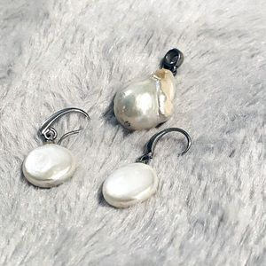 Baroque Elegant Large Pearls